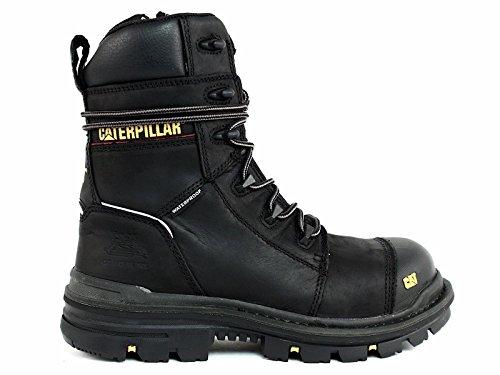 Caterpillar Men's Mortise 8'' Waterproof Work Boot Composite Toe Black 11.5 D(M) US by Caterpillar (Image #1)