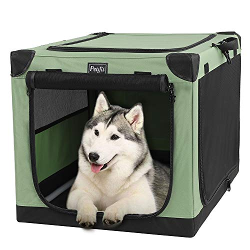 (Petsfit 36 Inch Portable Dog Crate for Outdoor and Travel Use)