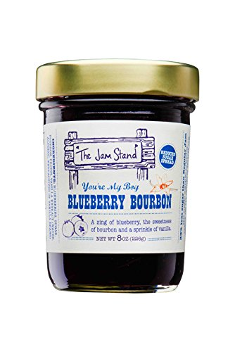 - The Jam Stand, Blueberry Bourbon Jam (9.5 oz)