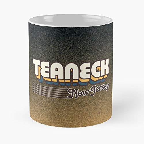 Teaneck New Jersey Nj Usa - Coffee Mugs Best Gift Unique Ceramic Novelty Cup