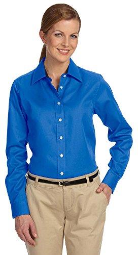 Devon & Jones Ladies Pima Advantage Twill, Medium, FRENCH BLUE