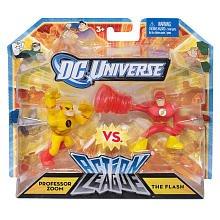 (Mattel DC Universe Action League Professor Zoom & The Flash 3-Inch Mini Figures)