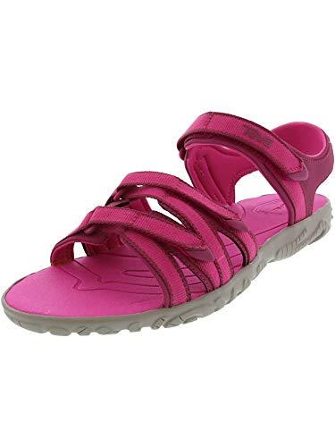 Teva Girls' Y Tirra Sport Sandal, Raspberry Rose, 7 M US Big -