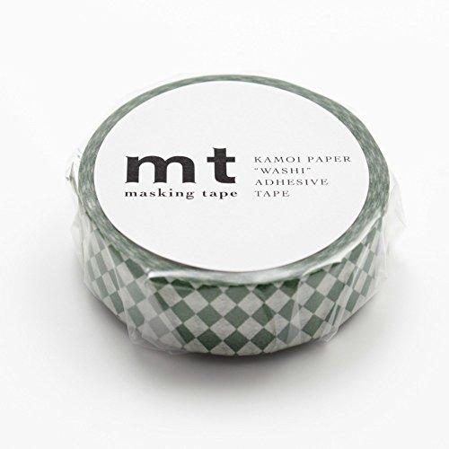 MT Washi Masking Tape Diamond-Viridian (MT01D159)