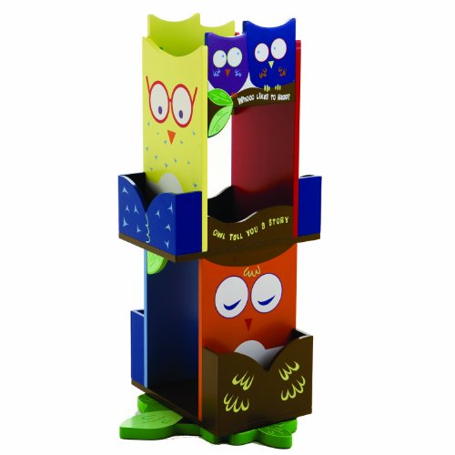 Wildkin Owls Revolving Bookcase by Wildkin