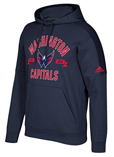 NHL Washington Capitals Mens Misconduct Team Issue Fleece Pullover Hoodmisconduct Team Issue Fleece Pullover Hood, Dark Navy, Medium
