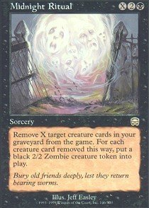 Magic: the Gathering - Midnight Ritual - Mercadian Masques