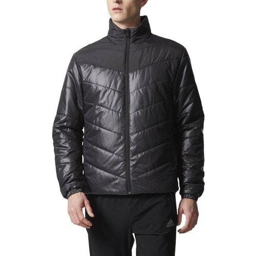 08cc50ac8590 adidas Men Jacket Cytins Padded Running Zipper Casual Gym Black Fashion (M)