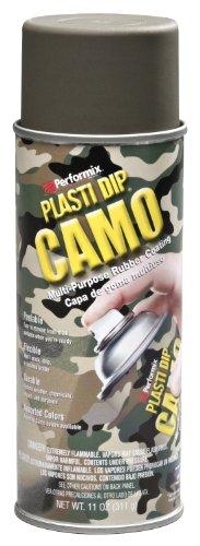 Performix PLASTI DIP Intl. Mulit-Purpose Rubber Coating Spray CAMO GREEN 11oz