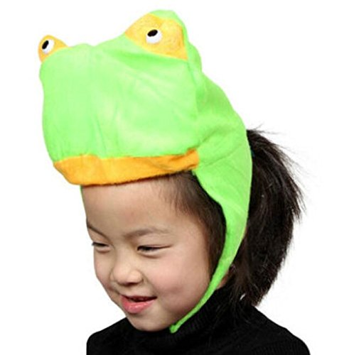 Sevenpring Chic Design Cute Kids Performance Accessories Cartoon Animal Hat (Frog) by Sevenpring