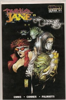 Event Comic Book - High Grade 9.8 (CGC Grading Stock): PAINKILLER JANE vs DARKNESS - Issue No.1 (Silvestri Cover)