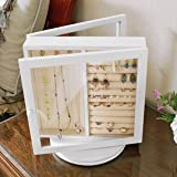 Double Sided Rotating Jewelry Box