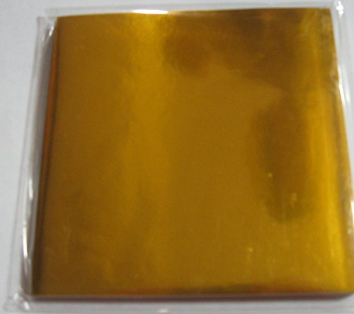 (JapanBargain Brand Origami Paper Solid Gold Color 100 Sheets 6in )