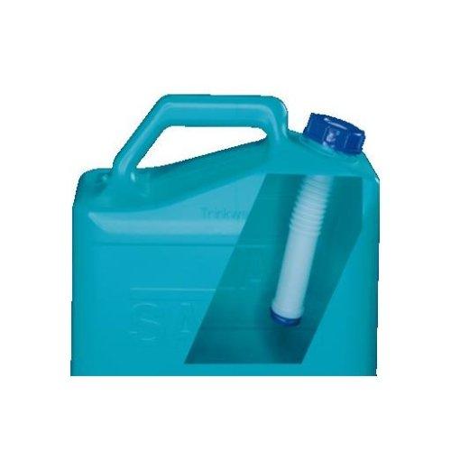 Wasserkanister Transportbeh/älter SAFARI Volumen: 15l Auslaufhahn 32 x 17 x 37 cm blau