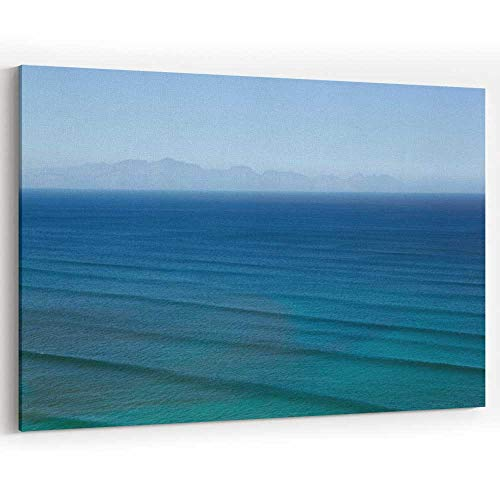 Actorstion Waves rippling on Calm Ocean Waters Canvas Art Wall Dcor for Modern Home Decor