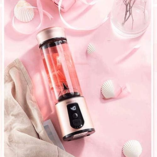 ECSWP Coupe-presse-agrumes, Version mise à jour Mélangeur de fruits électrique avec interrupteur à fermeture magnétique et mélangeur de jus rechargeable