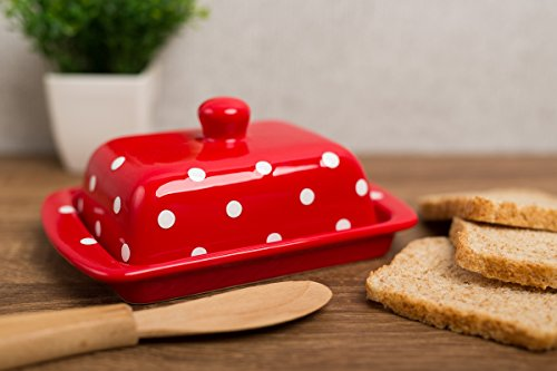Top 10 Stylish Retro Vintage Butter Dish with Lid Reviews 2019-2020 cover image