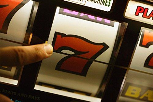 Vintage Slot Machine Triple 7 Las Vegas Nevada Photo Art Print Poster 18x12 -