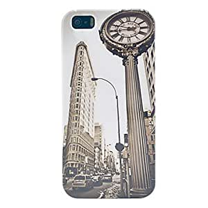 Buy Vintage The Triangle Building Plastic Case for iPhone 5/5S