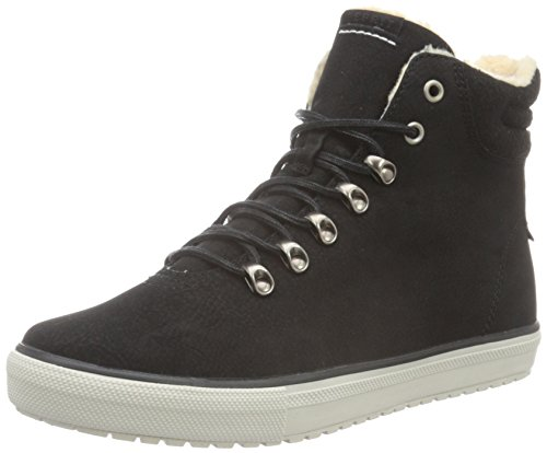 ESPRIT Damen Mika Bootie High-Top Schwarz (001 Black)