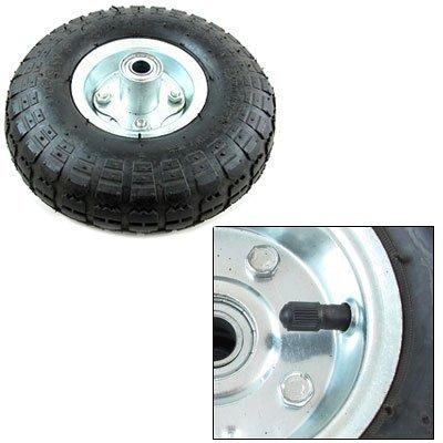(4) New 10'' Air Tires Wheels Hand Truck Dolly Tire Go Kart Farm