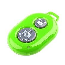 Dovewill Wireless Bluetooth Control Shutter Release Button For Taking Photo Selfie Stick Monopod - Green