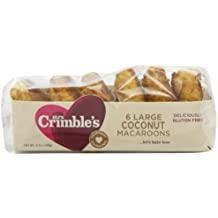Mrs Crimble's Traditional Coconut Macaroons,6.7-Ounce (Pack of 6)