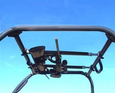 Polaris Ranger Quick-Draw Overhead UTV Gun Rack For Polaris Ranger 500/800 Full size | 23-28'' by Great Day by Great Day (Image #4)