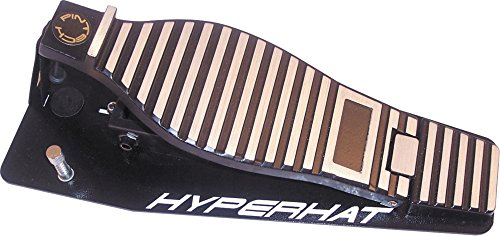 Pintech Percussion HH10CV-B Black Hyperhat Foam Replacement by Pintech Percussion