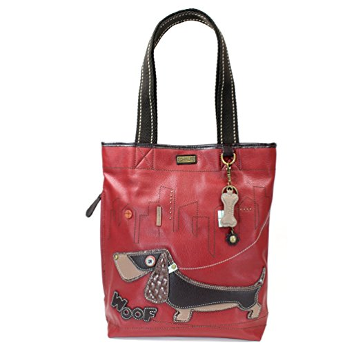 Chala Wiener Dog Everyday Tote, Burgundy - Everyday Tote Shopping Results