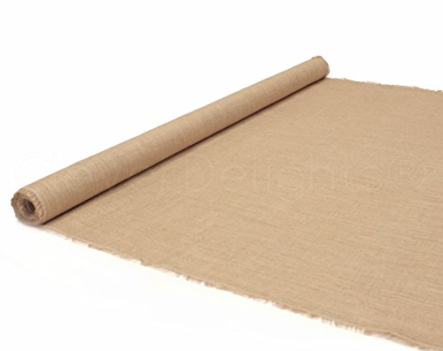 "Used, CleverDelights 60"" Premium Burlap Roll - 10 Yards - for sale  Delivered anywhere in USA"