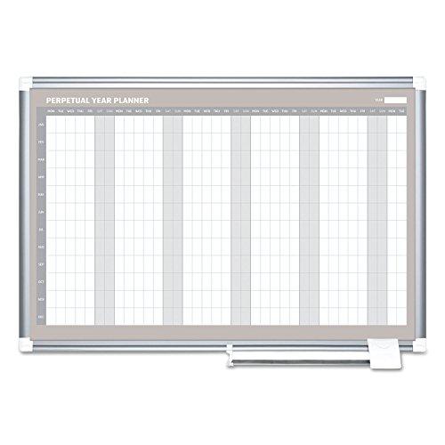BVCGA0594830 - Bi-silque MasterVision Perpetual Year Planner by MasterVision by MasterVision