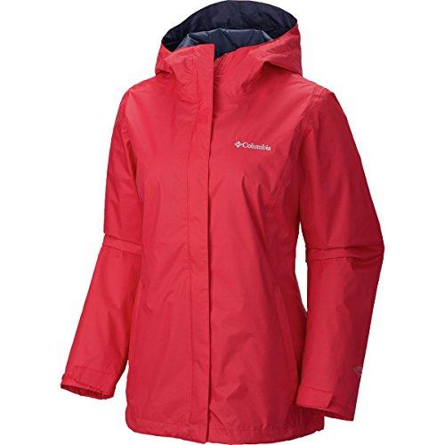 Columbia Women's Arcadia II Jacket, Ruby Red, (Columbia Parka Jackets)