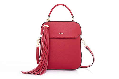 bonia-womens-sophia-leather-scarlet-bonnie-satchel-one-size-red