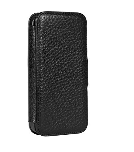 uk availability 7d664 03f5b Sena Cases Wallet Book for iPhone SE / 5 / 5s (Black)
