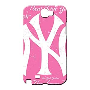 samsung note 2 cases Plastic Hd mobile phone carrying cases new york yankees mlb baseball
