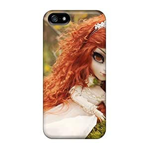 Hot Tpye Redhead Doll Case Cover For Iphone 5/5s