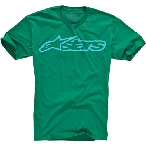 Alpinestars Quality T-shirt - Alpinestars Blaze T-Shirt 2012 Kelly Green L/Large