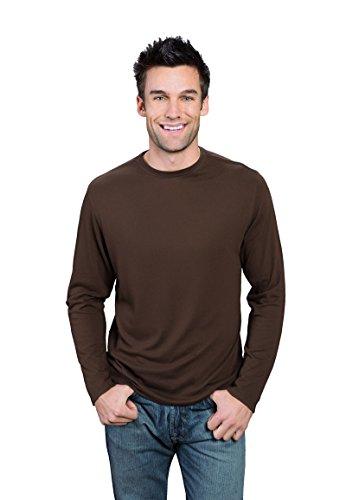 ve Bamboo T-Shirt M Espresso Brown (Pima Bamboo)