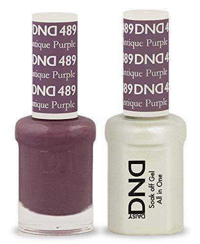 DND Soak Off Gel Polish Dual Matching Color Set 489, Antique