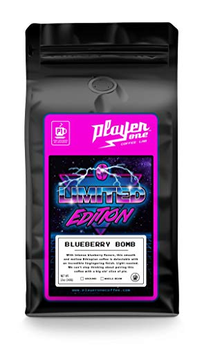 Blueberry Bomb Ethiopian Whole Bean Coffee Light Roast - Player One Coffee