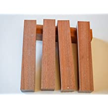 "African Mahogany Pen Blank 7/8"" - 5 Pack"
