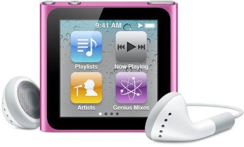 Apple iPod nano 16 GB Pink (6th Generation old model) Japan model by Apple