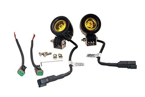 Amber Mini Trail Lights OZ-USA LED CREE Spot Motorcycle Offroad Dual Sport Enduro Fog KTM HID