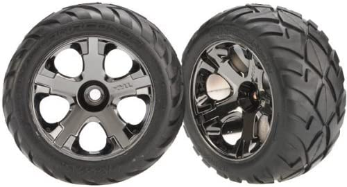 Traxxas 3777A Front All-Star Wheels with Anaconda Tires, 2-Piece [並行輸入品]