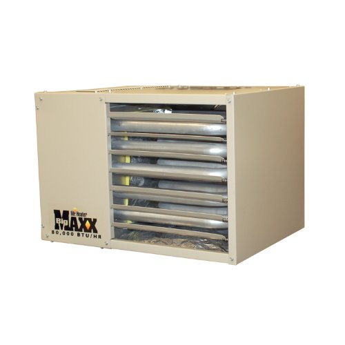 Convection Gas Heater - Mr. Heater F260560 Big Maxx MHU80NG Natural Gas Unit Heater