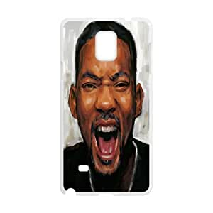 Diy Phone Cover Will Smith for Samsung Galaxy Note 4 N9100 WEW909587