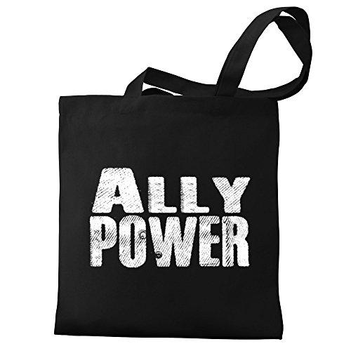 Ally Eddany power Tote Eddany Ally Bag Canvas x4E8d