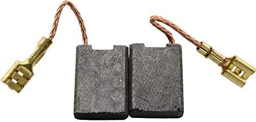 Balais de Charbon pour HITACHI G 23UDY meuleuse 7x17x23mm 2.8x6.7x9.1 Avec arr/êt automatique