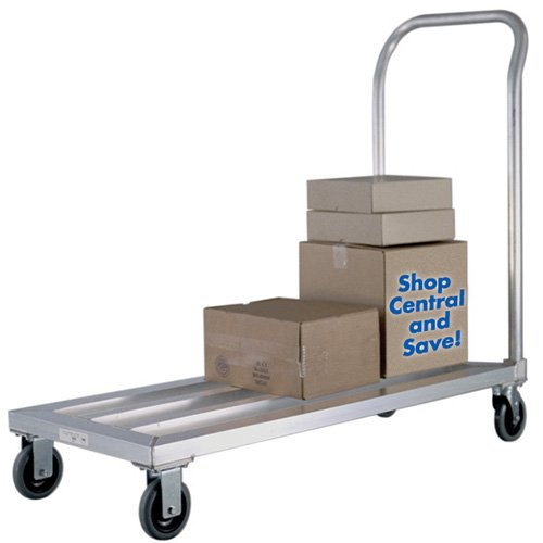 - Focus Foodservice FMADR3624 Dunnage Mobile Rack, Heavy Duty Aluminum, 36